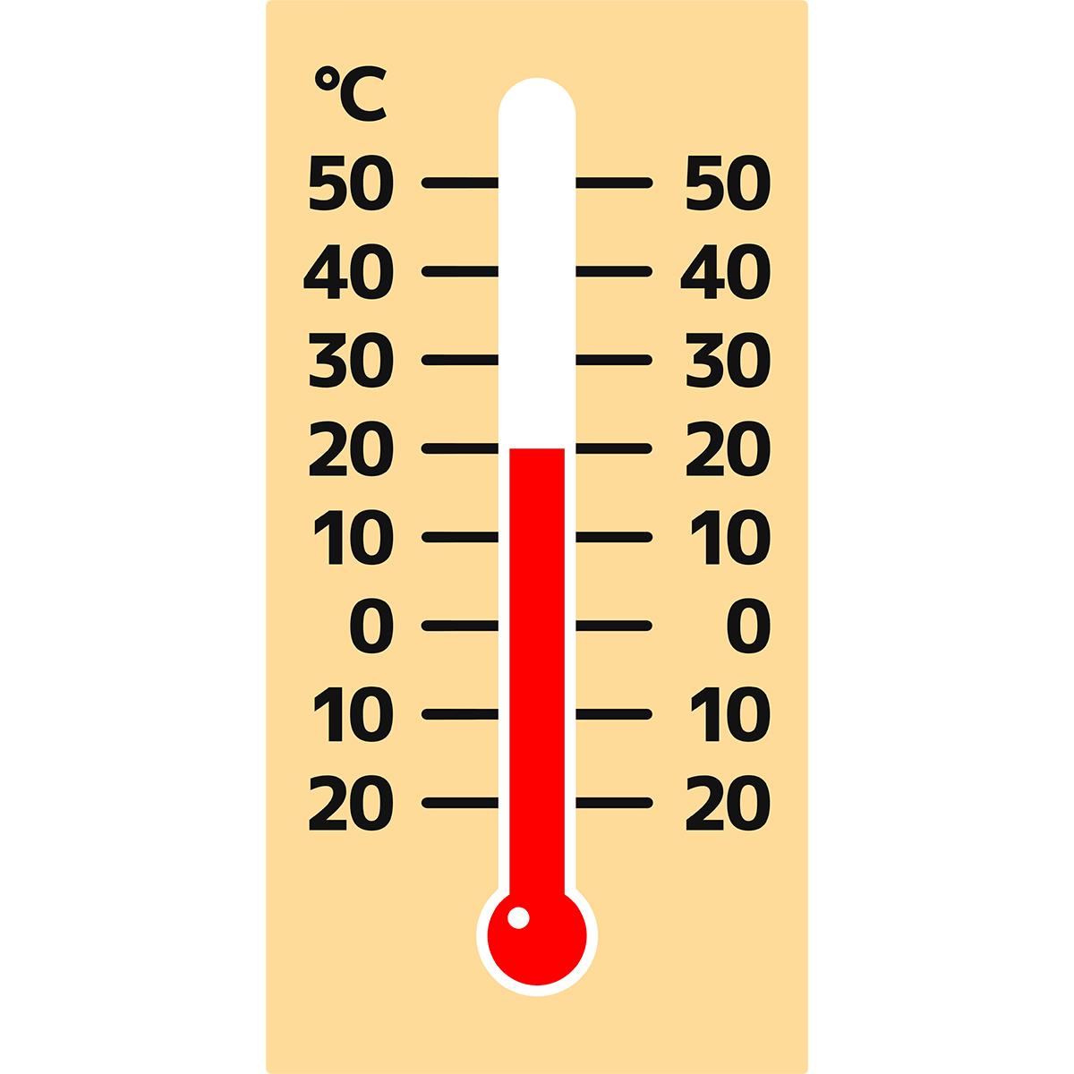 温度計の無料イラスト