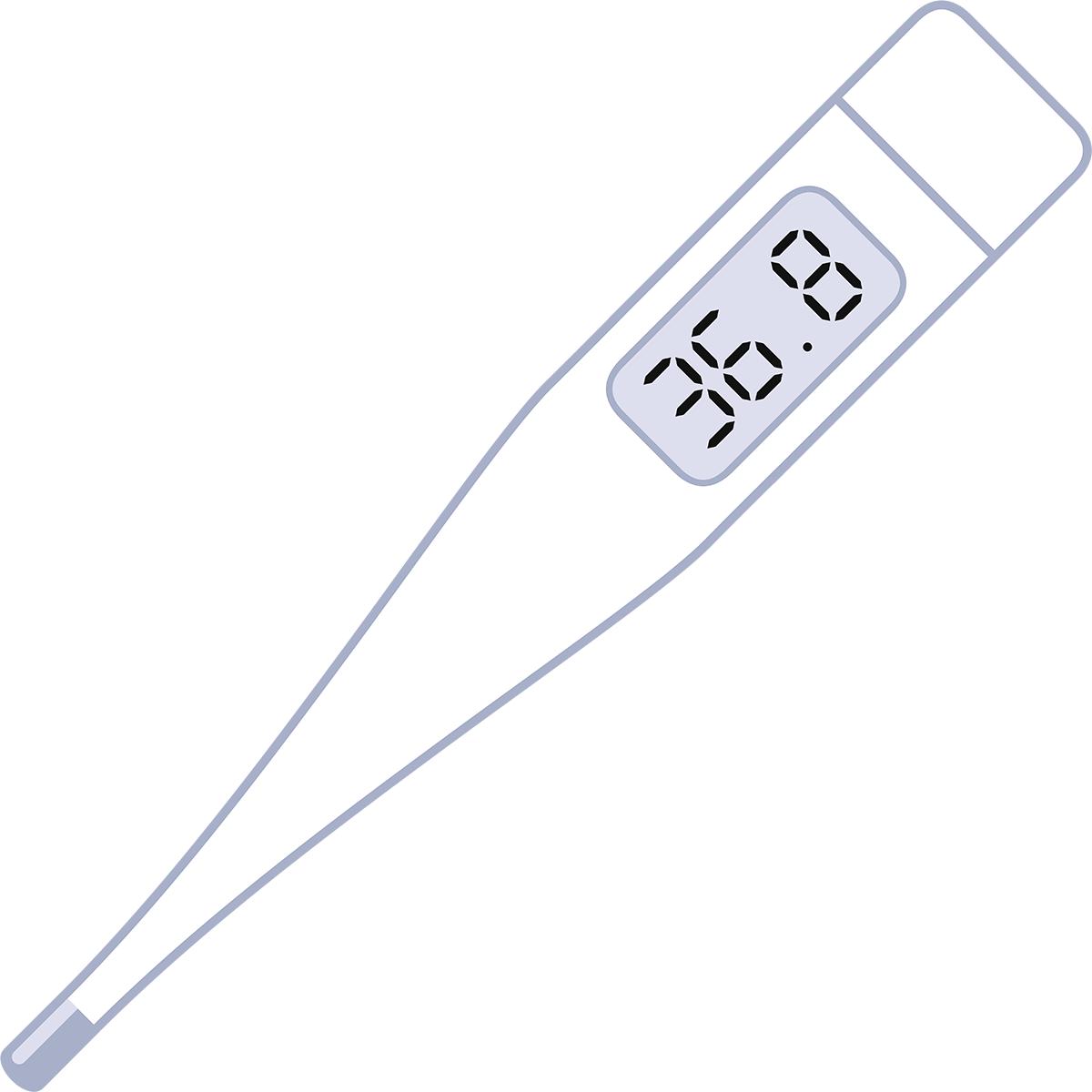 体温計の無料イラスト