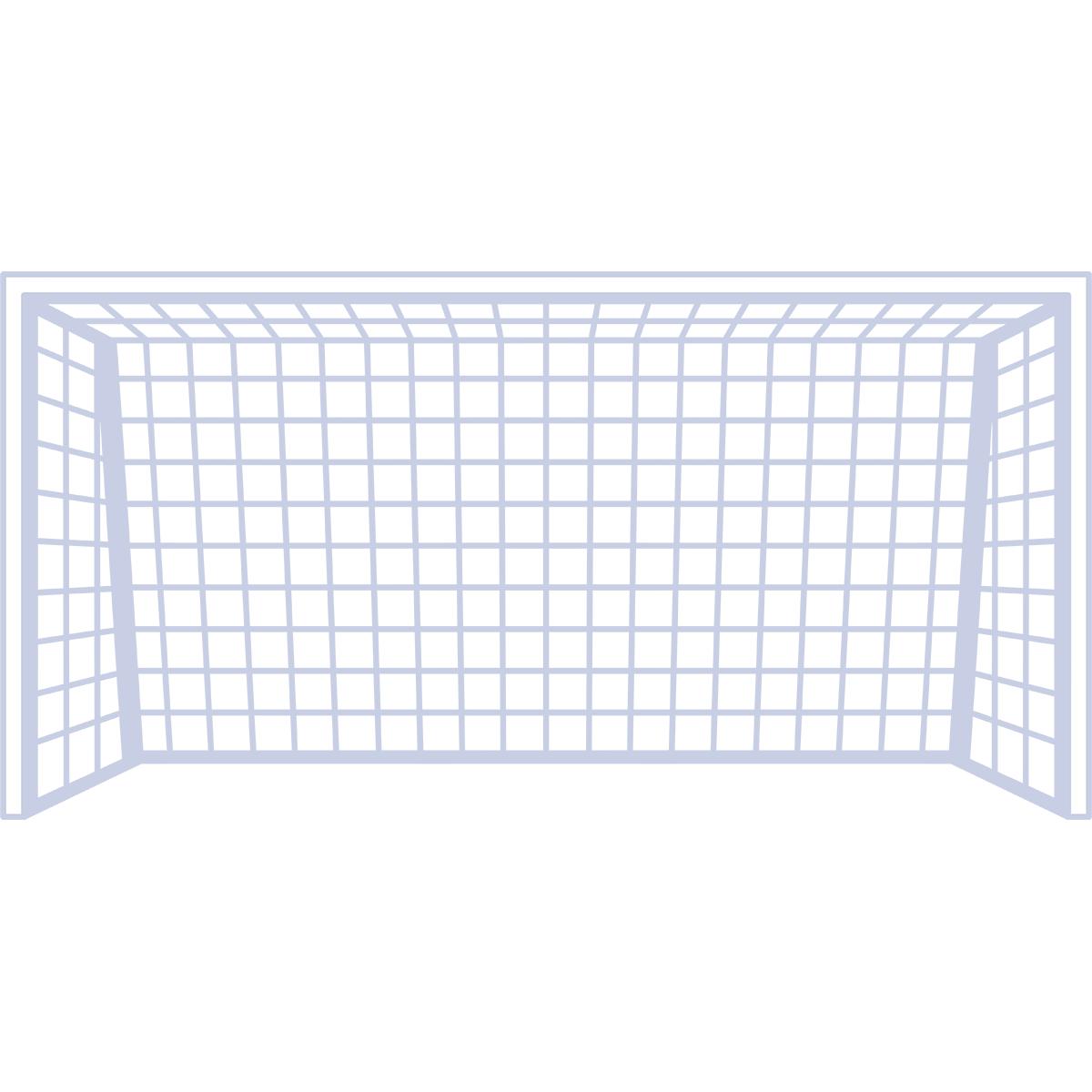 サッカーゴールの無料イラスト