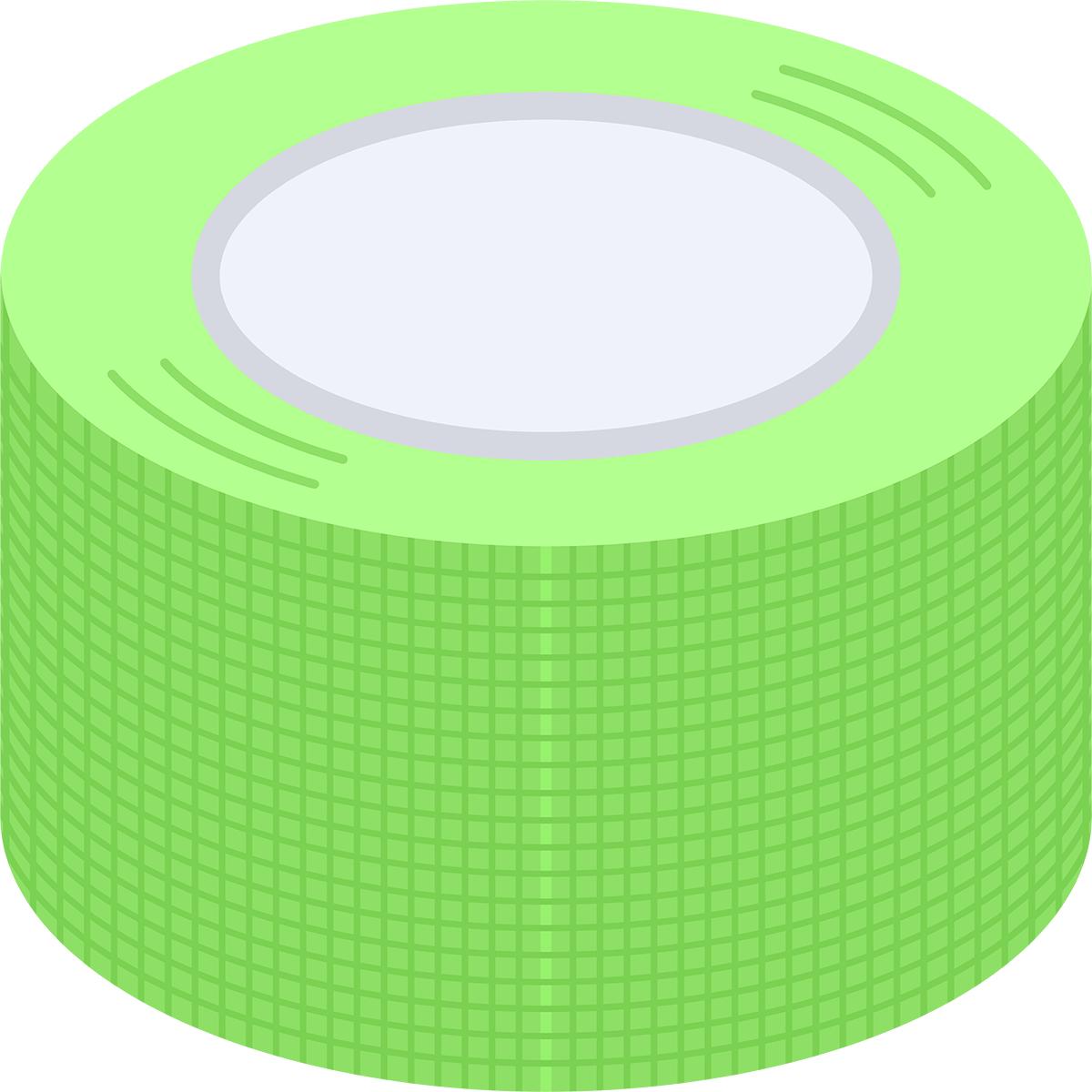 養生テープの無料イラスト