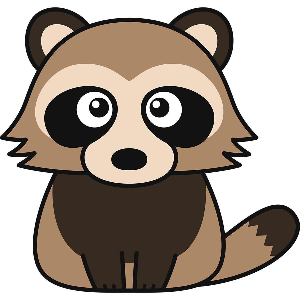 タヌキ(狸)の無料イラスト