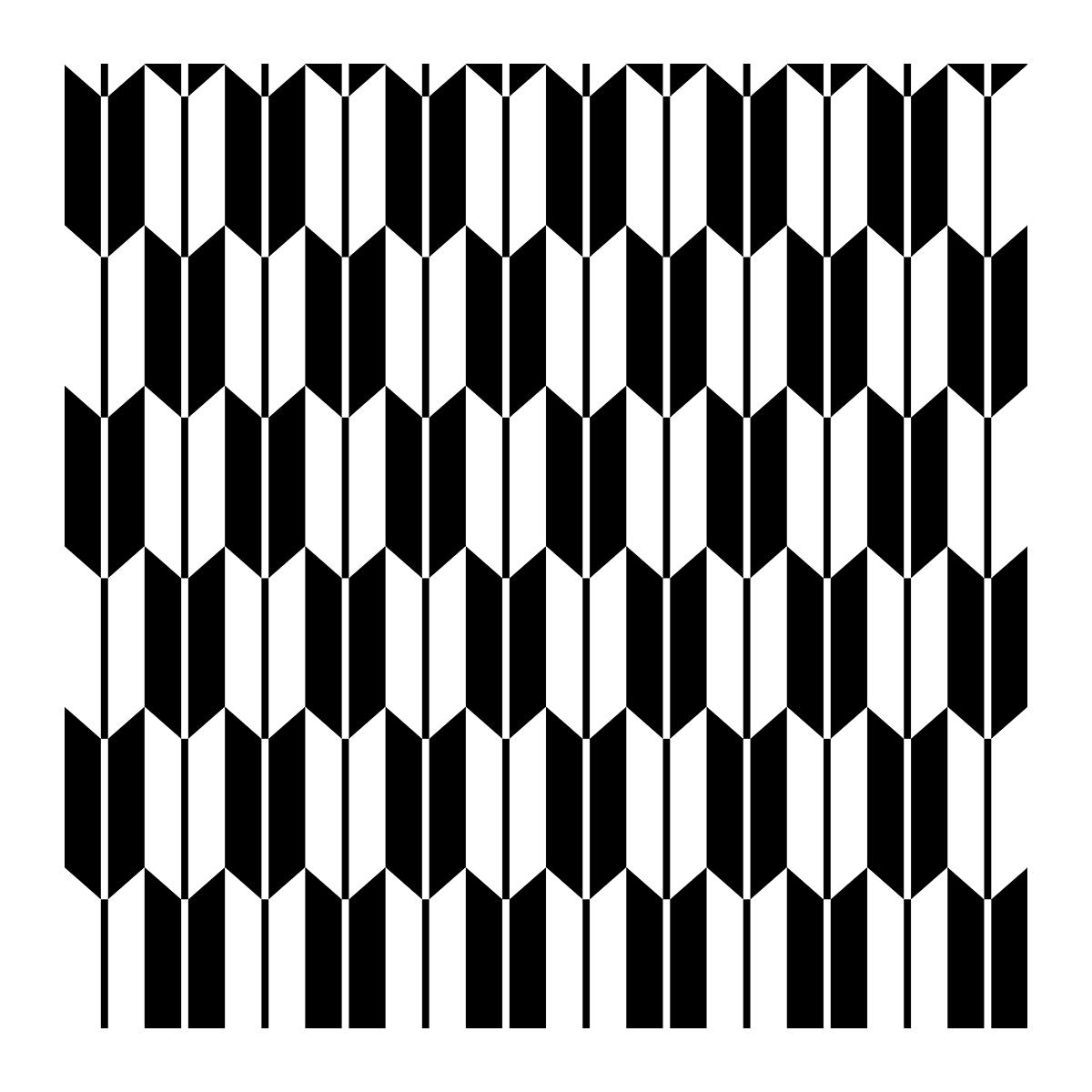 【パターン】矢絣の無料イラスト