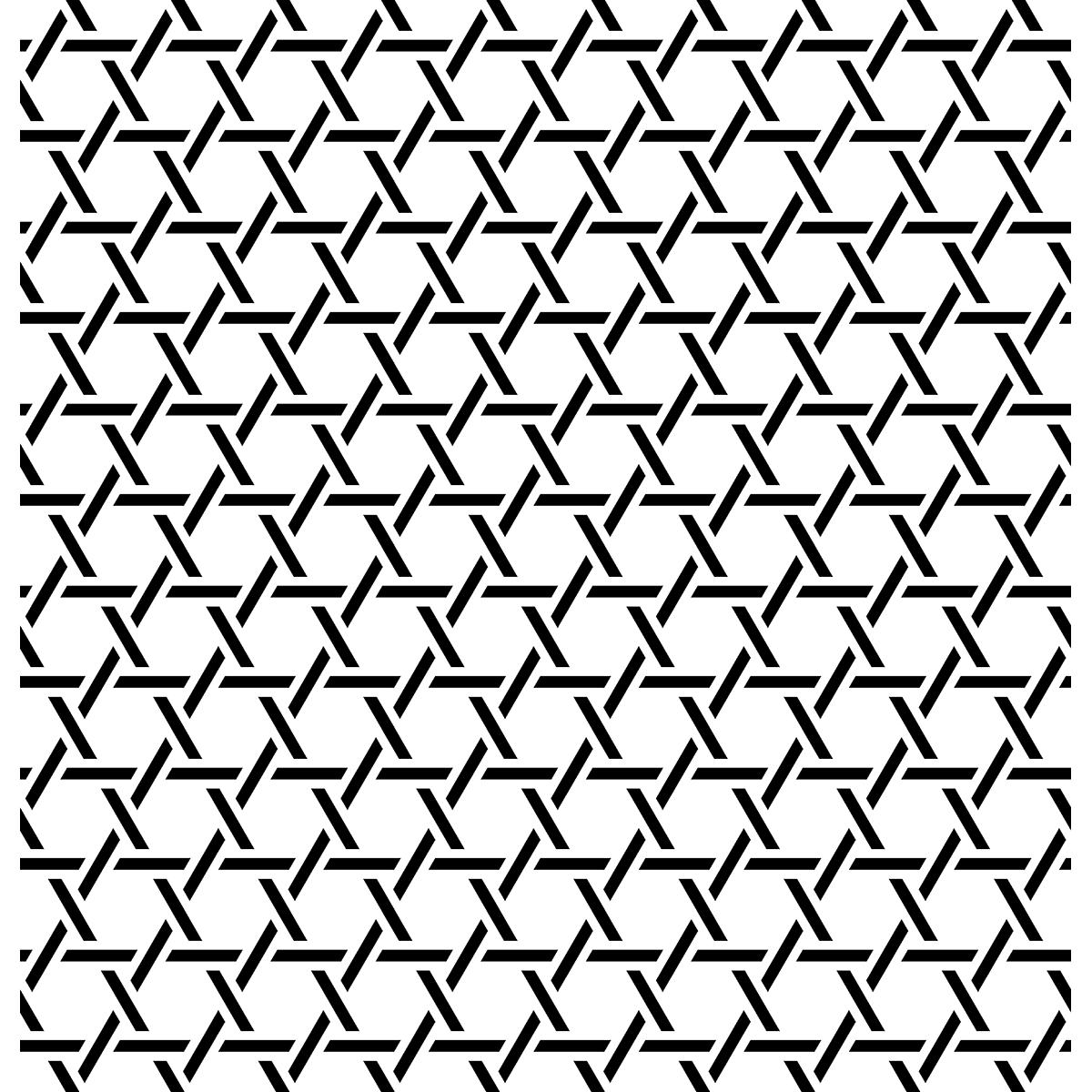 【パターン】籠目(2)の無料イラスト